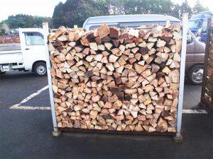広葉樹薪生産